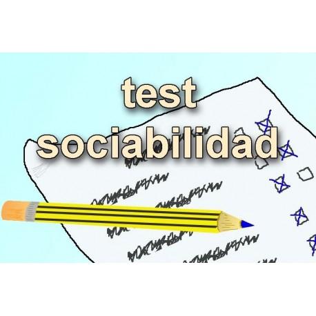 TEST DE SOCIABILIDAD
