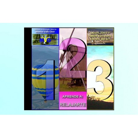 APRENDE A: RELAJARTE - VERSIÓN CD
